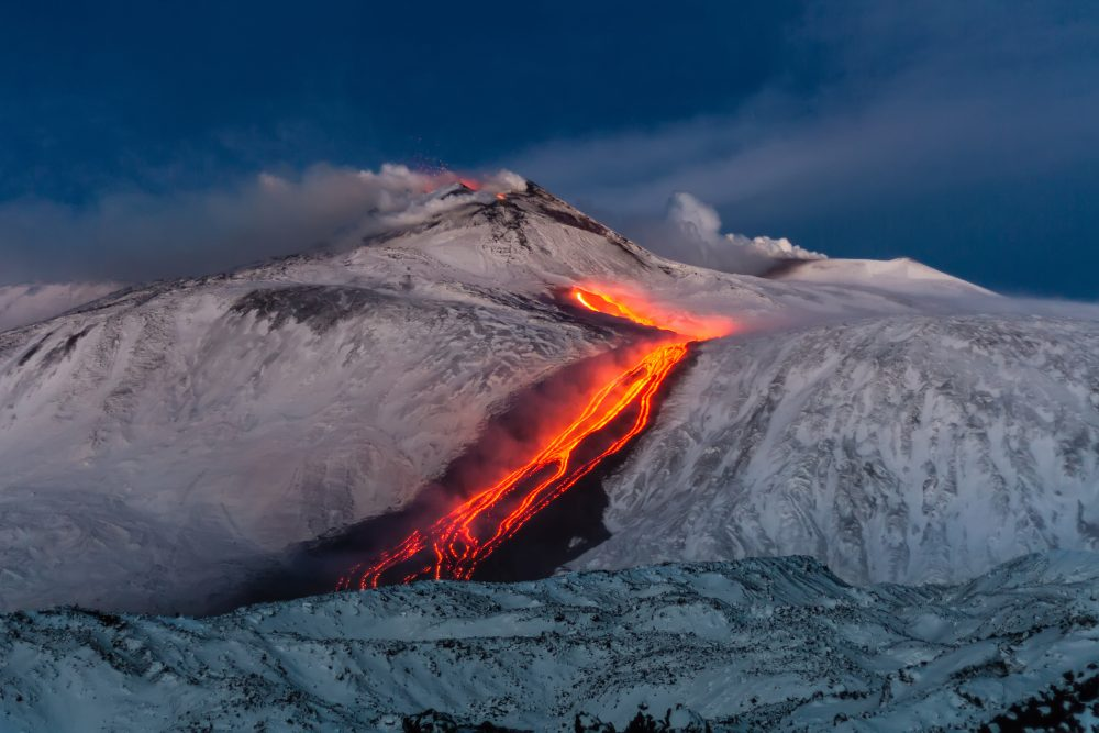 Mount Etna Volcano Is Sliding Towards The Sea And Now We Know Why