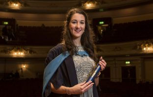 Faye Tester, Usher Hall Degree Ceremony