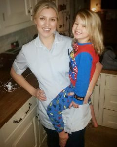 Photo of Rebecca Reffold and her daughter Jessica