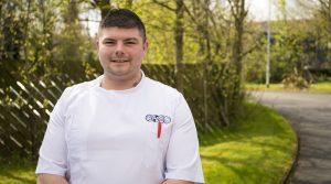 Nursing student Robert Wilkinson