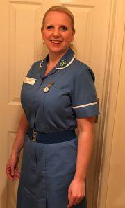 Nurse Sarah Burgess