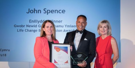 OU student who battled against the odds is Wales' Adult Learner of the Year