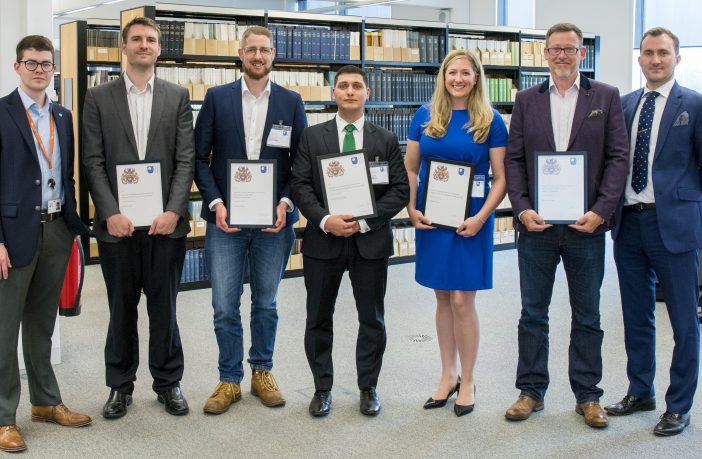 Photo of OU Student Entrepreneurship Competition winners