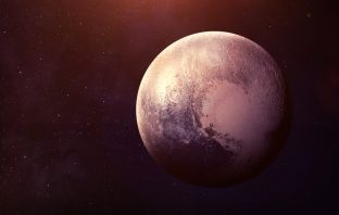 NASA photograph of Planet Pluto