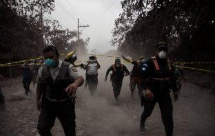 Eruption in Guatemala