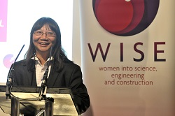 Top 50 Women in Engineering, Dr Phebe Mann.