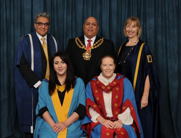 Supporting women in Oldham is lifetime's work for OU Hon Grad