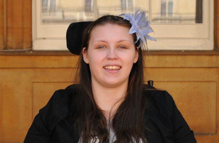 Portrait photo of Lucy Watts MBE