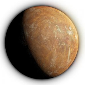 Barnard's Star b, artists impression