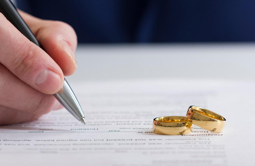 Civil marriage.