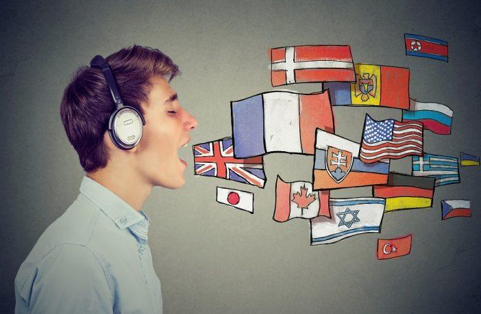 Man speaking multiple languages