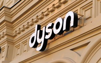 dyson logo on a building