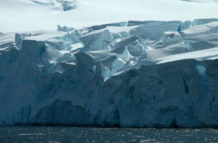 iceberg sea scene