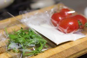 salad in packaging