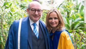 John Darcy and Sharon Corr