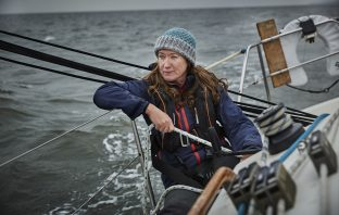 Tracy Thorpe at sea