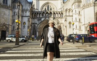 Zahra Alidina at the Royal Courts of Justice