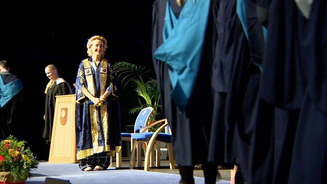 OU degree ceremony