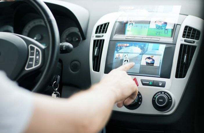 In car technology in use