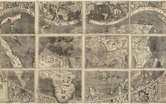 Waldseemuller map of the world