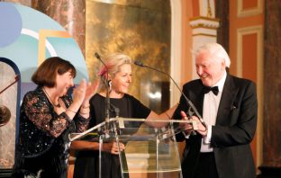 Mary Kellett, Martha Lane Fox and Sir David Attenborough
