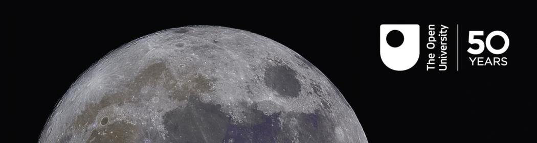 Moon with OU logo