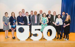 Group photo of the award winners