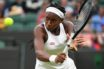 Cori Gauff in action on the tennis court