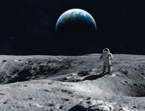 My three minutes with the first man on the Moon