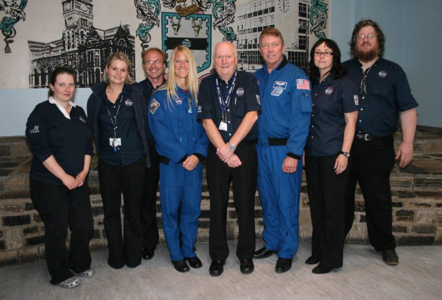The Star Centre team pictured with Astronauts