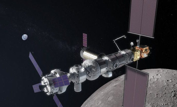 satellite orbiting a planet