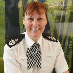Chief Constable Lisa Winward of North Yorkshire Police