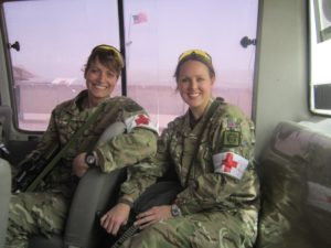 Two military personnel