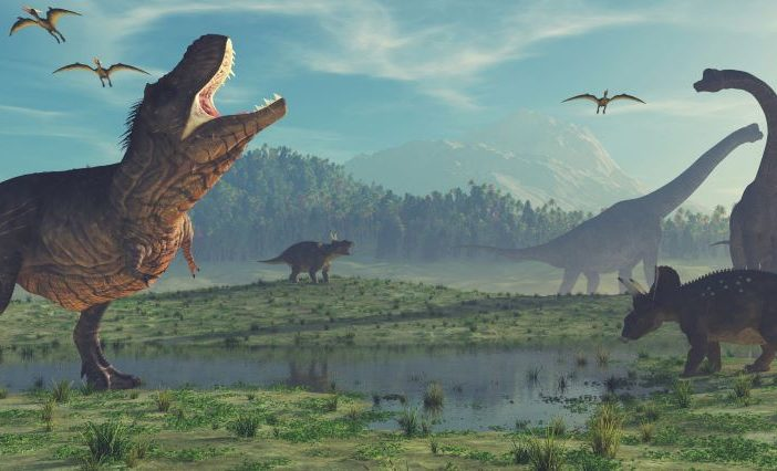 Illustration of dinosaurs