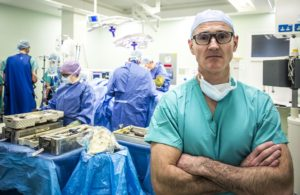 Surgeons featured on the series