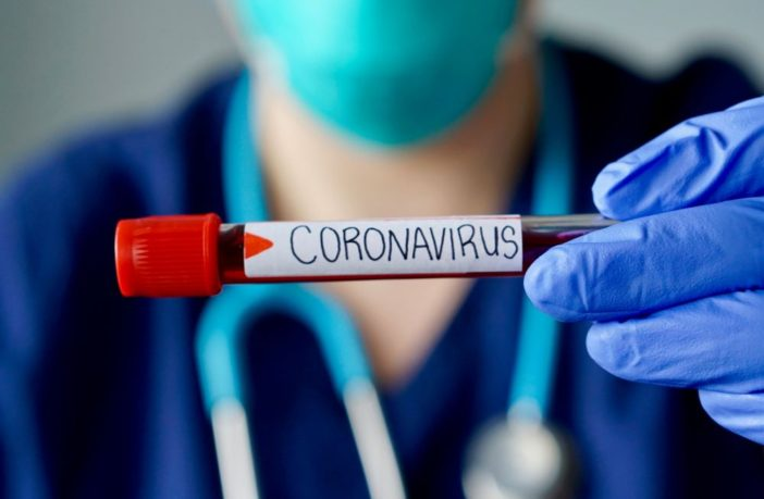 Coronavirus positive test