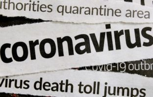 Newspaper headlines on COVID-19