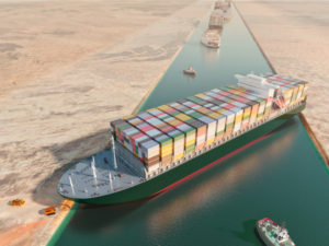 Boat Suez Canal