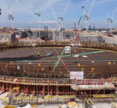 TV cameras capture building of Britain's biggest nuclear power station