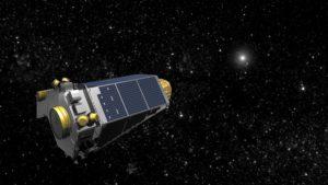 Kepler telescope (copyright NASA)