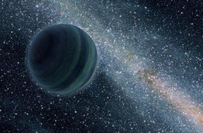 lone planet, copyright NASA