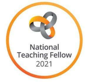 National Teaching Fellow 2021 logo