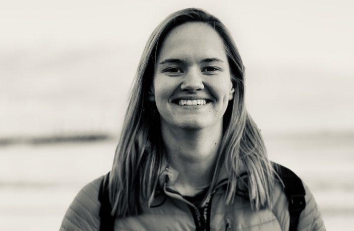 OU Law student Elizabeth smiling after prestigious prize win
