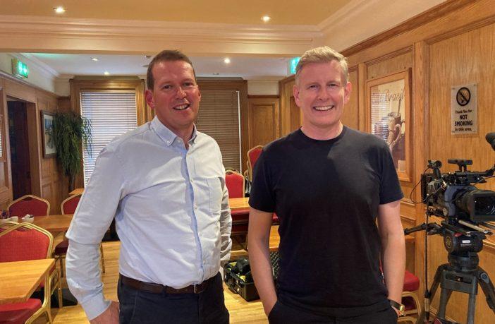 Patrick Kielty and Philip O'Sullivan, Dragonfly TV